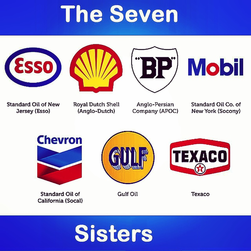 4. The Seven Sisters. Source Petrosociety